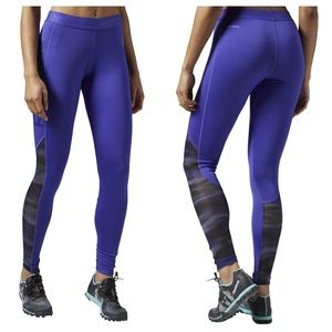 Reebok Workout Tights Full Length Legging Tight L